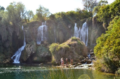 Kravice - Waterfalls in Bosnia