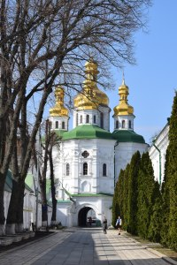 A church at the Larva Complex in Kyiv Ukraine